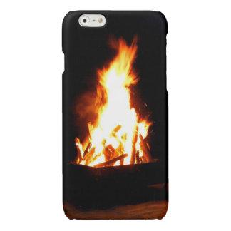 Jamaican Beach Bonfire iPhone Glossy iPhone 6 Case