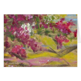 Jamaican Bougainvillea / Blank Greeting Card