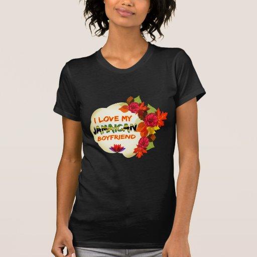 Jamaican Boyfriend Design T Shirts