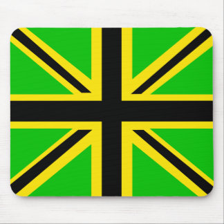 Jamaican British Flag Mousepad
