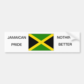 JAMAICAN BUMPER STICKER CAR BUMPER STICKER