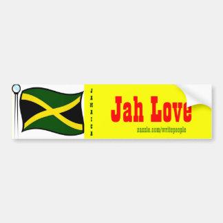 Jamaican  bumper stickers-jah live