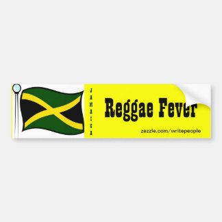 Jamaican  bumper stickers-Reggae Bumper Sticker