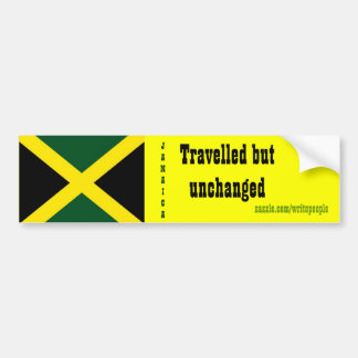 Jamaican  bumper stickers-tavelled but unchanged