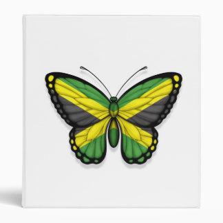 Jamaican Butterfly Flag Binder