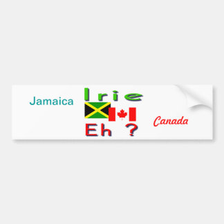 Jamaican-Canadian bumper stickers