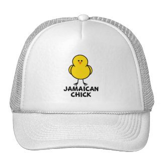 Jamaican Chick Trucker Hat