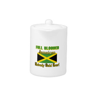 Jamaican citizen design teapot
