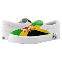 Jamaican Coat of arms Slip-On Sneakers