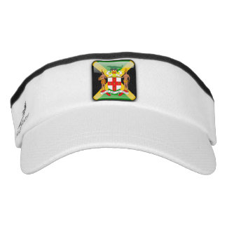 Jamaican Coat of arms Visor