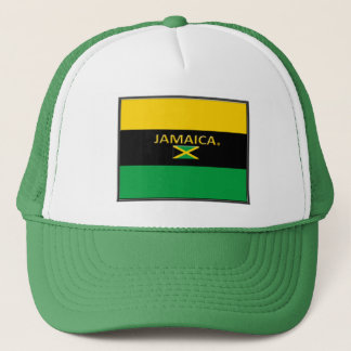 Jamaican Colors Flag Trucker Hats