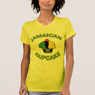 Jamaican Cupcake in Jamaican colors T-Shirt