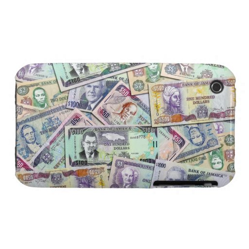 Jamaican currency - banknotes iPhone 3 case