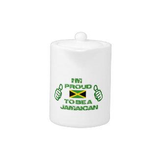 JAMAICAN DESIGN TEAPOT