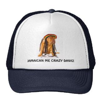 JAMAICAN DOG TRUCKER HATS