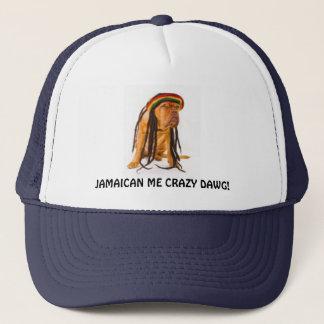 JAMAICAN DOG TRUCKER HAT