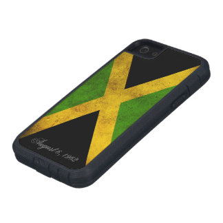 Jamaican Flag and Day of Independance iPhone SE/5/5s Case