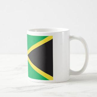 Jamaican Flag Art Classic White Coffee Mug