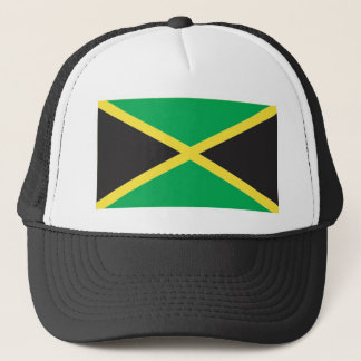 Jamaican Flag Art Trucker Hat