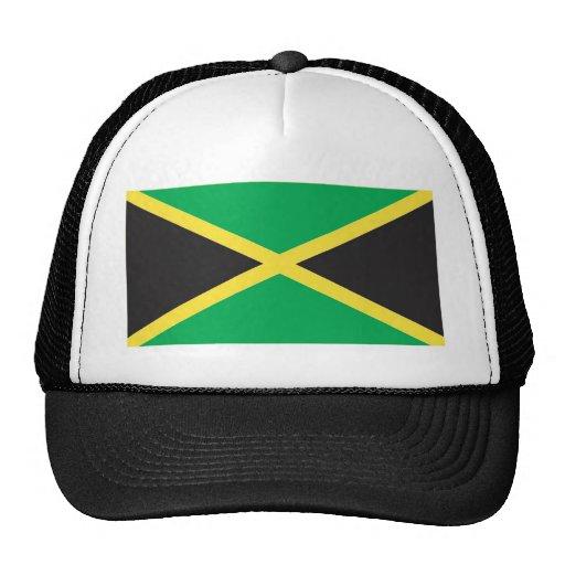 Jamaican Flag Art Trucker Hat