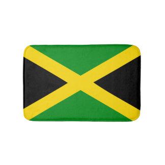 Jamaican Flag Bathroom Mat