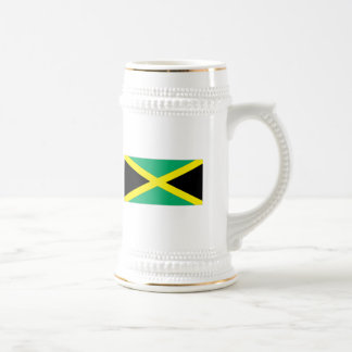 Jamaican Flag Beer Stein