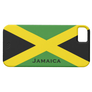 Jamaican Flag Black Green Yellow Jamaica iPhone SE/5/5s Case