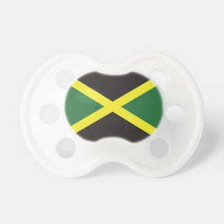 Jamaican Flag BooginHead Pacifier
