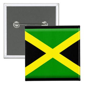 Jamaican Flag Button