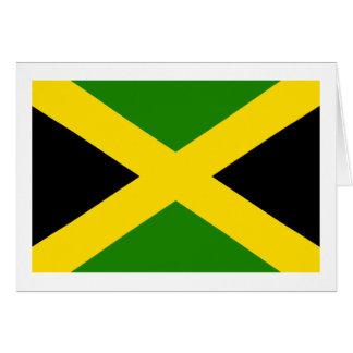 Jamaican Flag Card