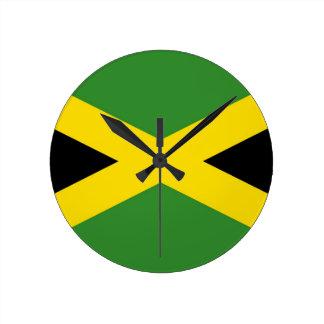 Jamaican Flag Clock