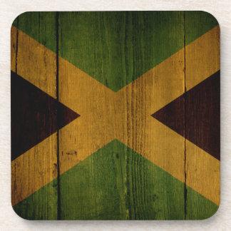 Jamaican flag. coaster