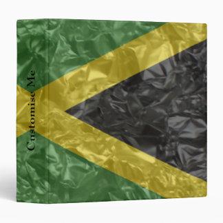 Jamaican Flag - Crinkled Binder