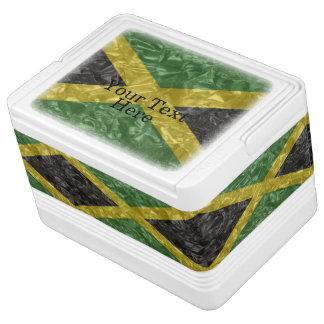 Jamaican Flag - Crinkled Cooler