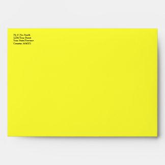 Jamaican Flag - Crinkled Envelope