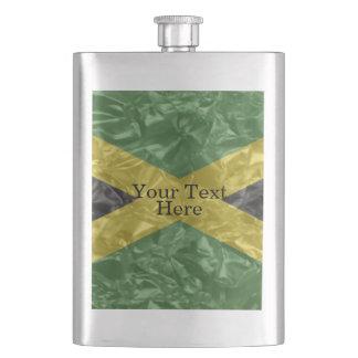 Jamaican Flag - Crinkled Flasks