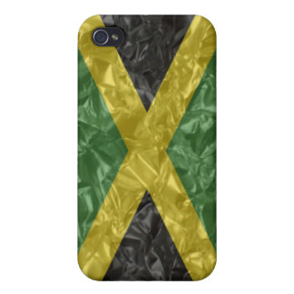 Jamaican Flag - Crinkled iPhone 4 Covers