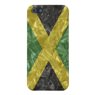 Jamaican Flag - Crinkled Cases For iPhone 5