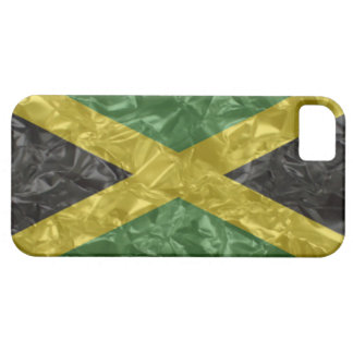 Jamaican Flag - Crinkled iPhone SE/5/5s Case