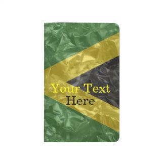 Jamaican Flag - Crinkled Journal