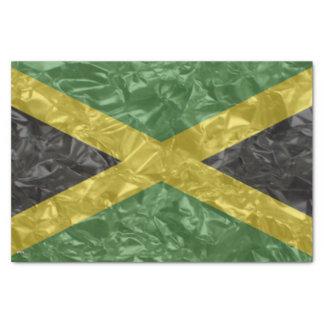 Jamaican Flag - Crinkled Tissue Paper