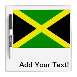 Jamaican Flag Dry Erase Boards