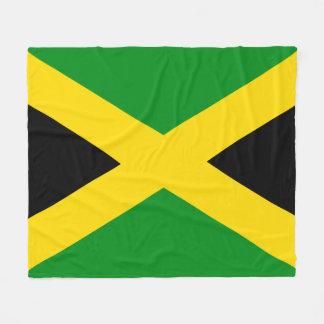 Jamaican Flag Fleece Blanket