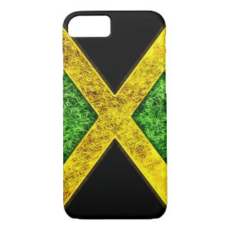 Jamaican Flag Fractal iPhone 8/7 Case