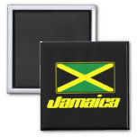 Jamaican Flag Fridge Magnet