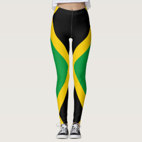 Jamaican Flag full Leggings