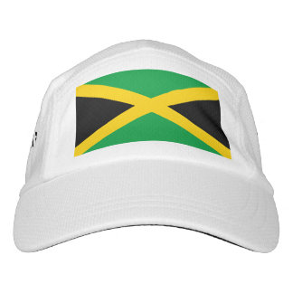 Jamaican flag headsweats hat