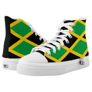 Jamaican Colored Running Shoes
