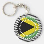Jamaican Flag Key Chains