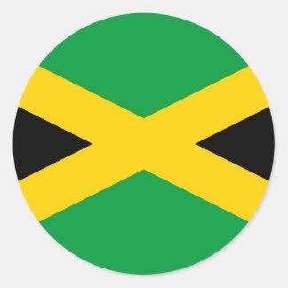 jamaican-flag-large[1].jpg classic round sticker
